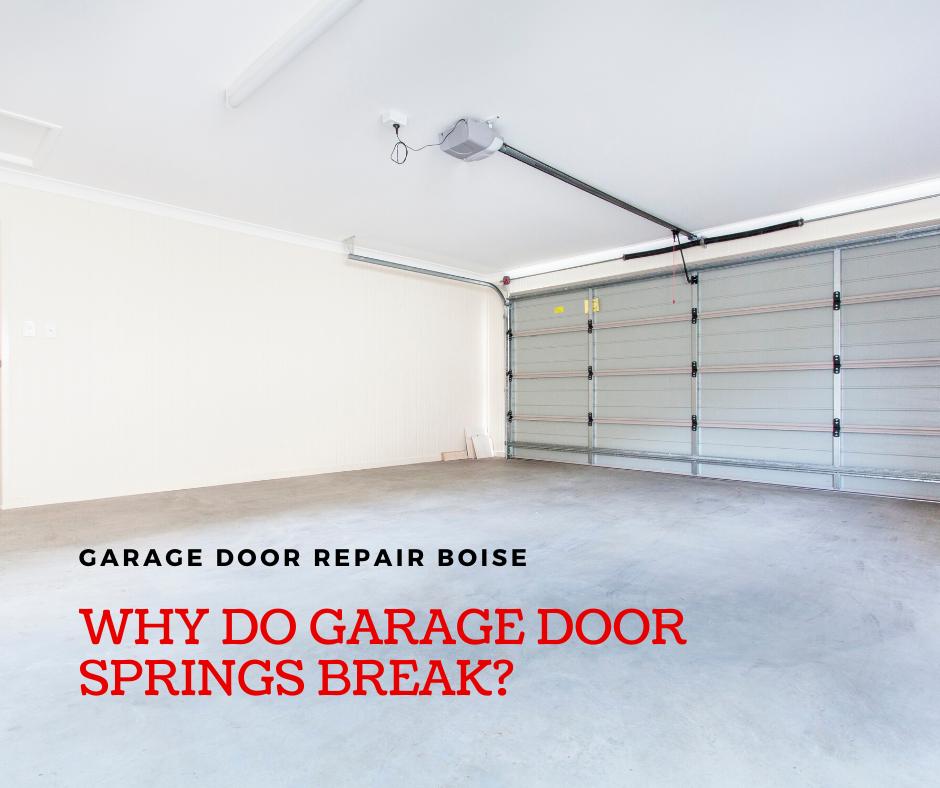 broken garage door springs